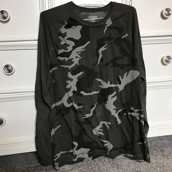 Old Navy Other - old navy camo long sleeve